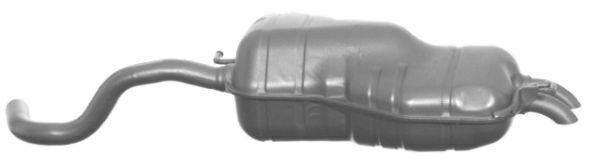 TUBO GAS DI SCARICO MARMITTA  PER AUDI A 3 PER VW GOLF NEW BEETLE  PER SEAT LEON  711907