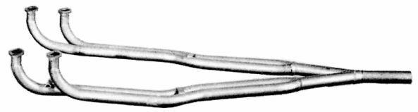 TUBO COLLETTORE GAS DI SCARICO MARMITTA PER ALFA ROMEO 33 1.7 I.E. QV  106601