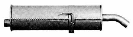 TUBO GAS DI SCARICO MARMITTA PER PEUGEOT 205 FURGONATO 573007