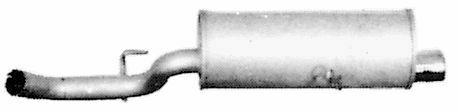 TERMINALE GAS DI SCARICO MARMITTA PER FIAT RITMO  (138) 1.9 TD 264507