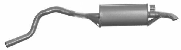 TERMINALE GAS DI SCARICO MARMITTA PER ALFA ROMEO GTV E ALFETTA GT  103707
