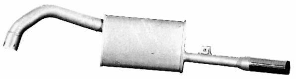TERMINALE GAS DI SCARICO MARMITTA ALFETTA 2.0 E 2.4 TD  104177
