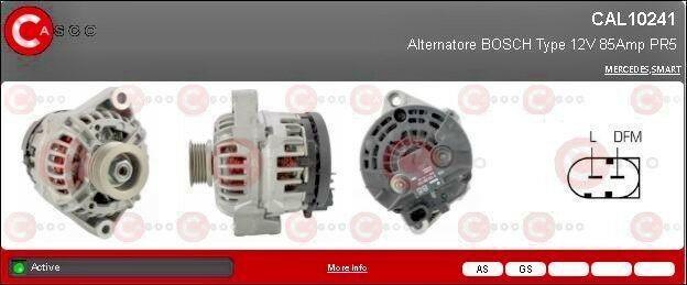 ALTERNATORE PER SMART 450 CAL10241AS