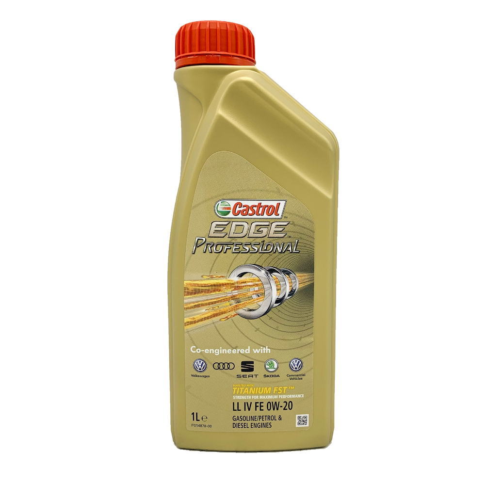 Olio Motore Castrol Professional Edge Longlife IV 0W20 FE