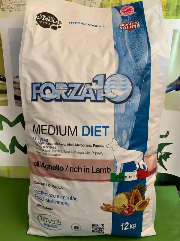 MEDIUM DIET AGNELLO low grain 12kg