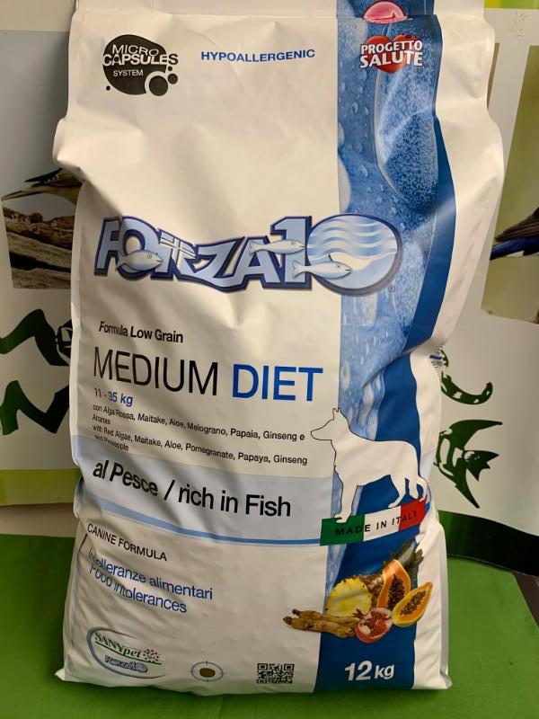 MEDIU DIET PESCE low grain 12 kg