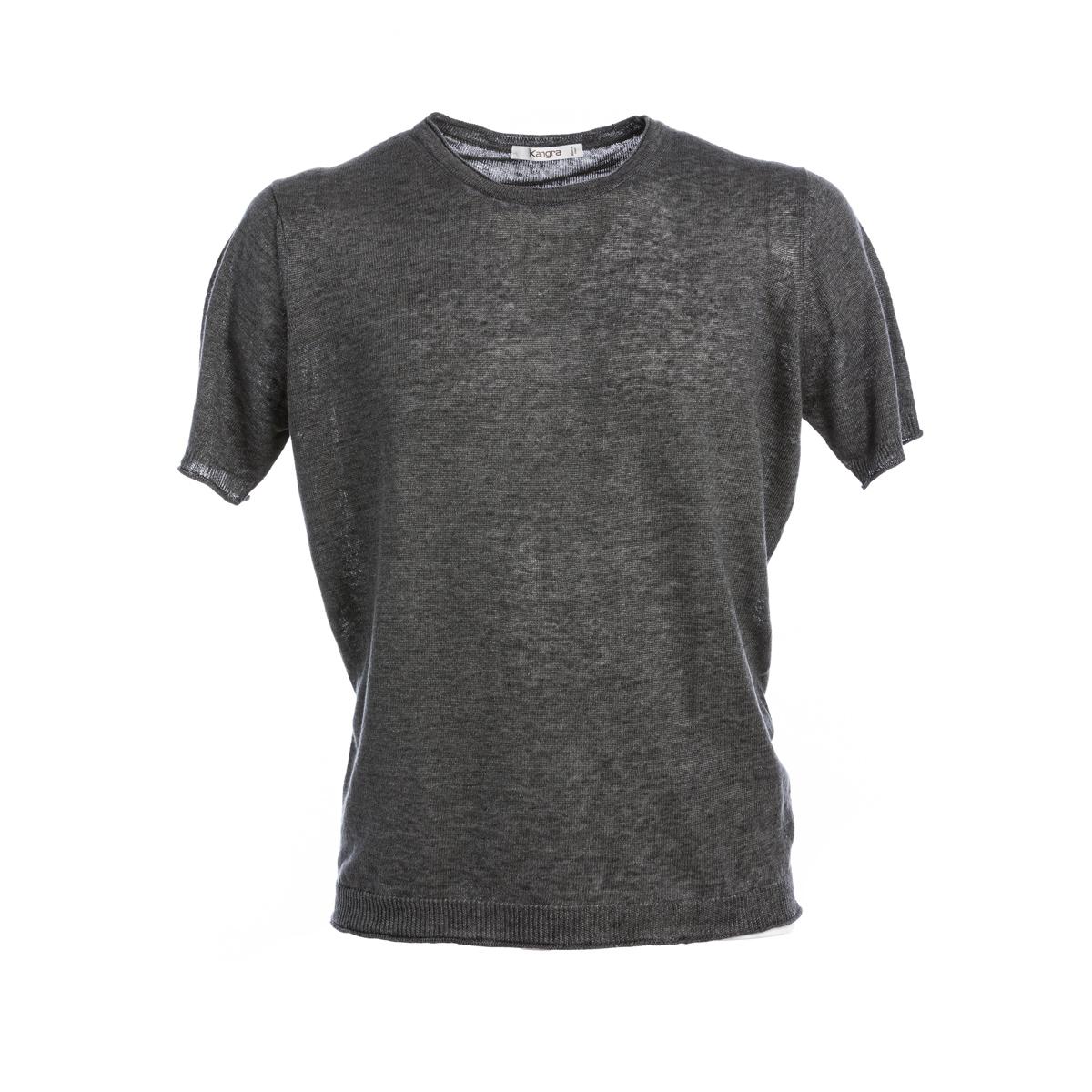 T-Shirt Kangra Lino Grigio