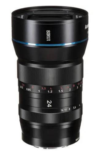 Lente anamorfica 24mm f/2.8 1.33x (SR24-MFT Attacco Micro 4/3)