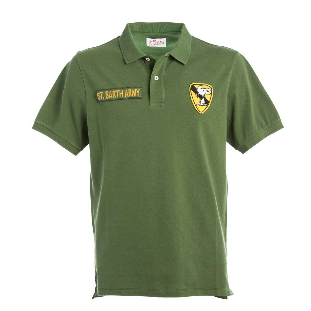 Polo St.Barth Snoopy Verde
