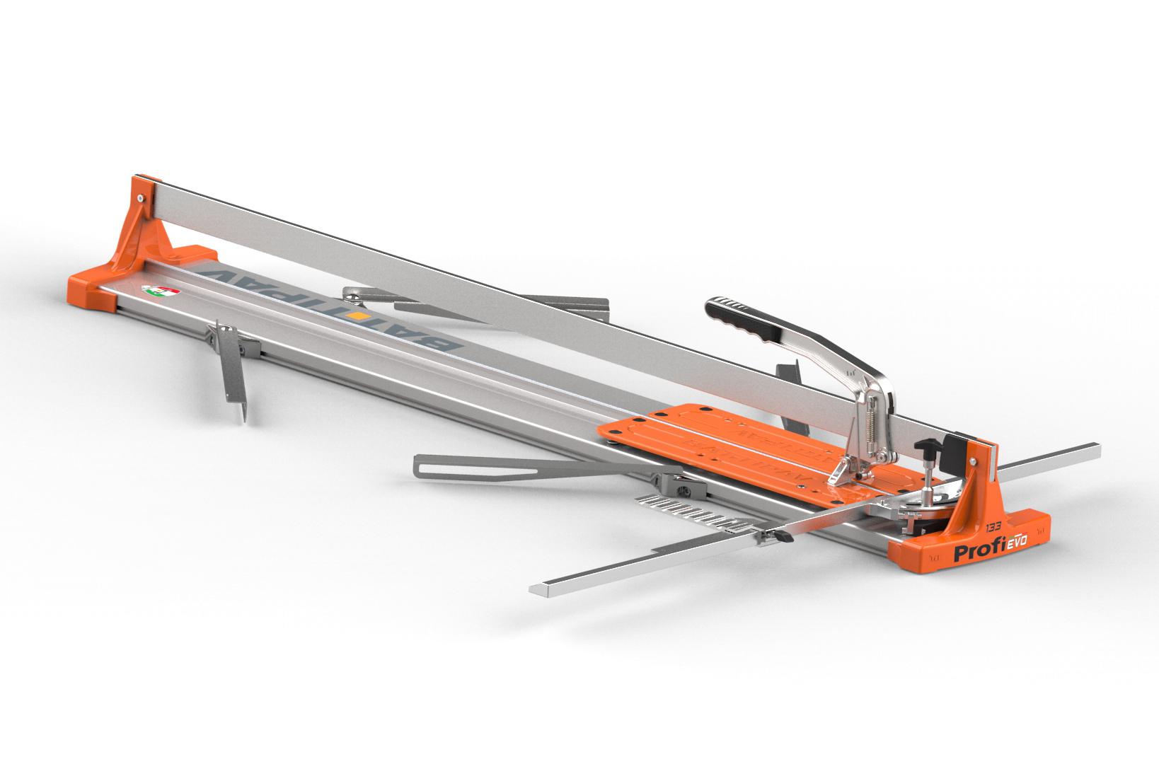 Battipav tagliapiastrelle profi evo133 alluminio art.61300ev