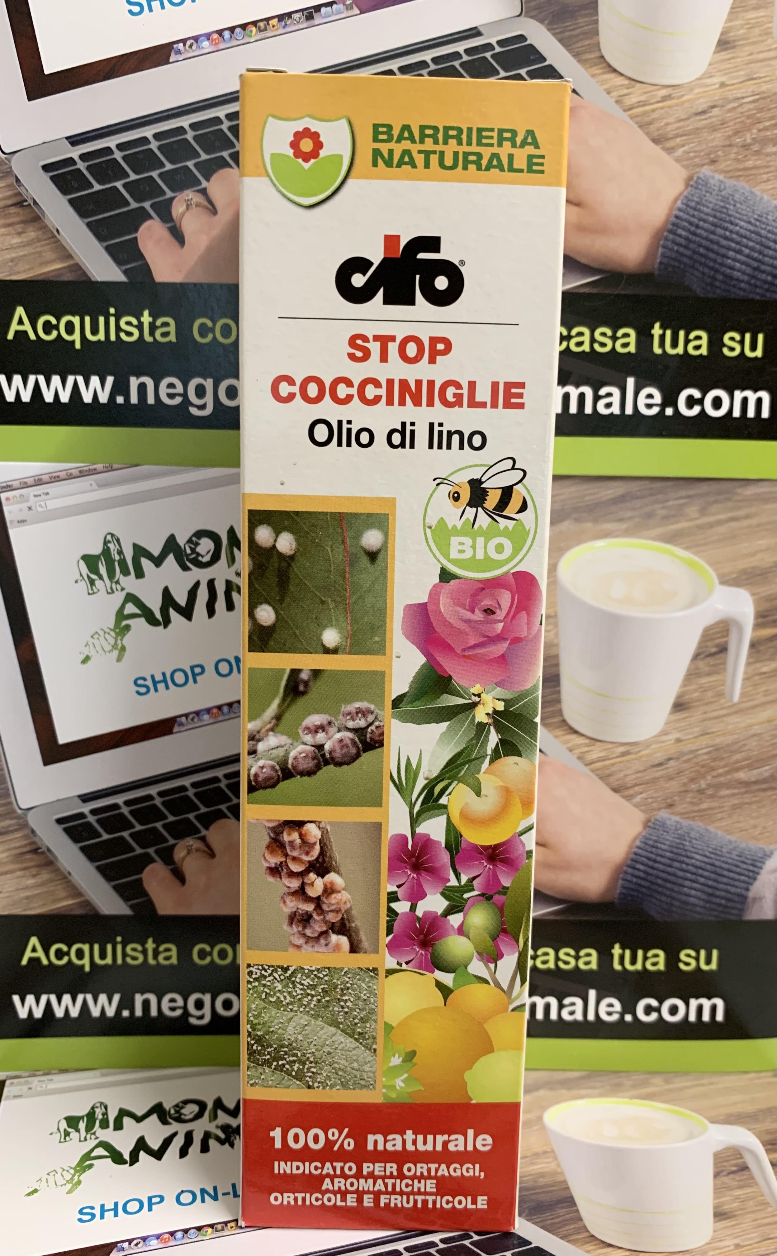 OLIO DI LINO Concentrato Stop Cocciniglie 200ml