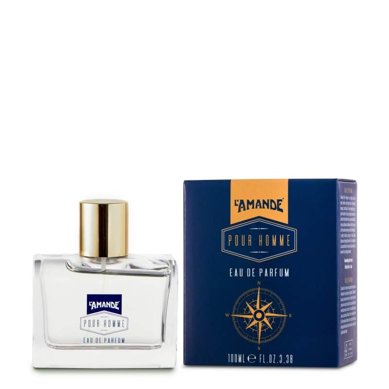 L'Amande, Eau de Parfum 100ml + portaprofumo Pour Homme