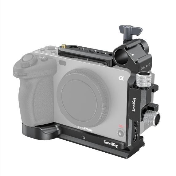 Half cage per Sony FX3 cinema camera 3278