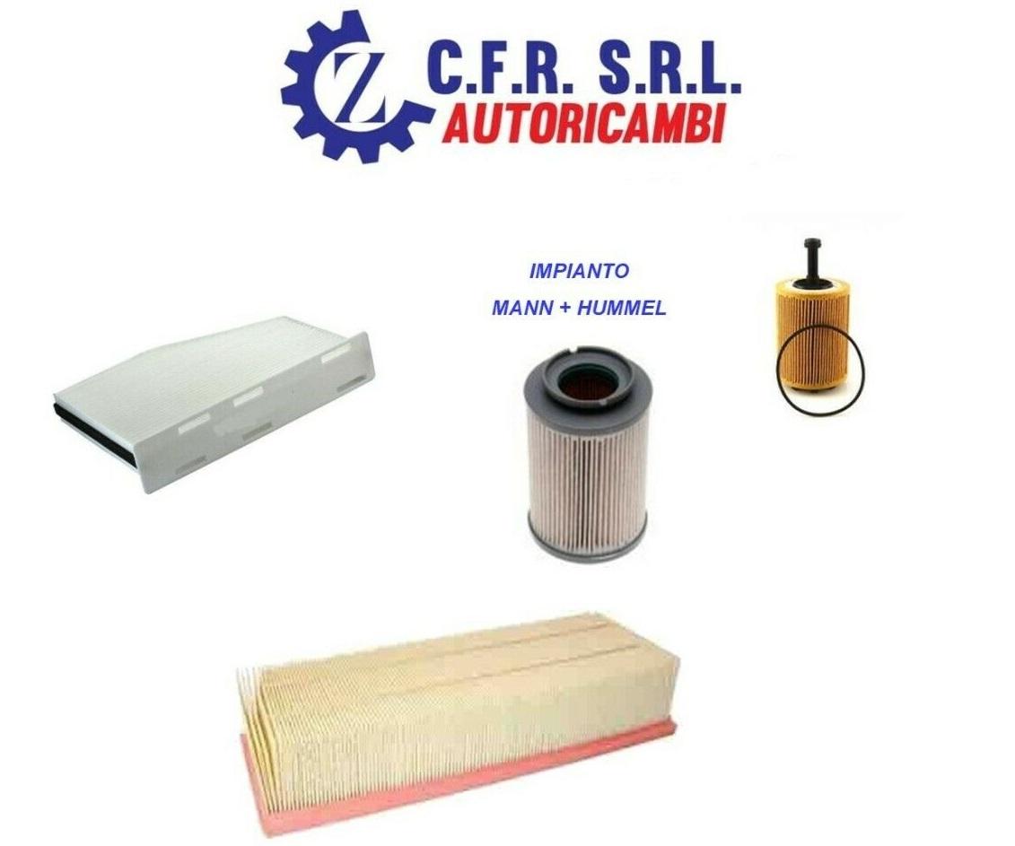 KIT FILTRI ,FILTRO OLIO,ARIA,GASOLIO,A/C, PER VW GOLF V 1.9 2.0 TDI