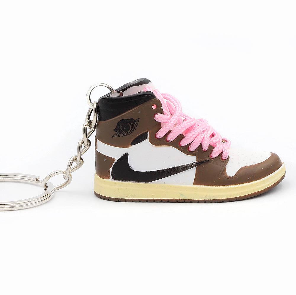 Air Jordan 1 retro high Travis Scott portachiavi sneaker da collezione