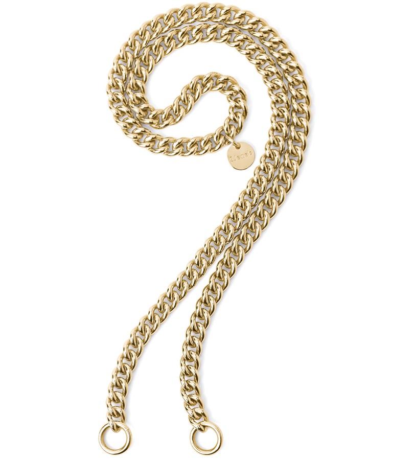 2Jewels Collana Lock 'n' Chain - Groumette Girocollo Gold