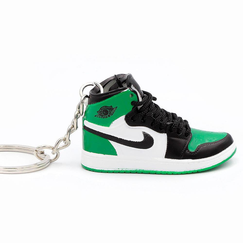 Air Jordan 1 retro high Pine Green portachiavi sneaker da collezione