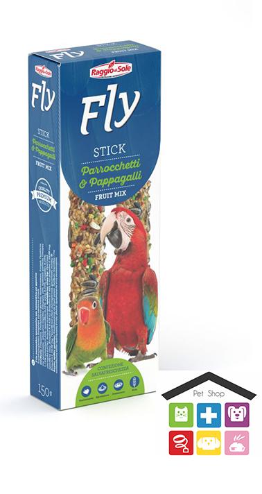 Raggio di sole stick per parrocchetti e pappagalli fruit mix