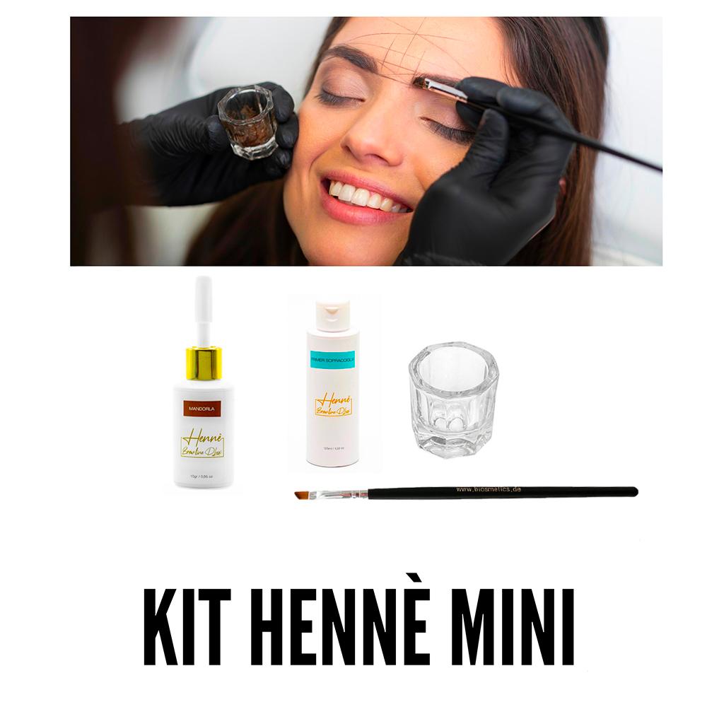 Kit Mini de henna BrowLine Dlux