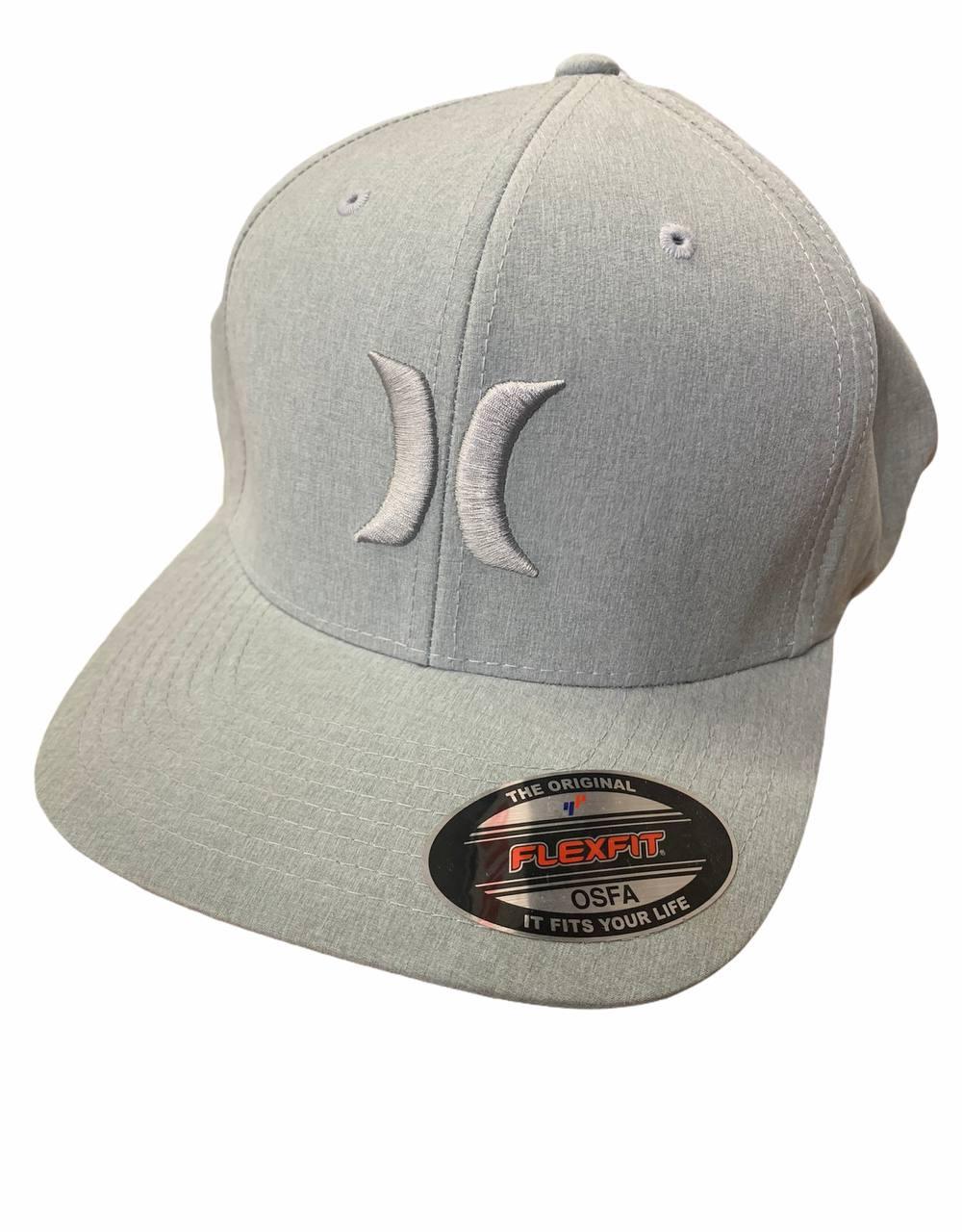 Cappello Hurley FlexFit Total Grey