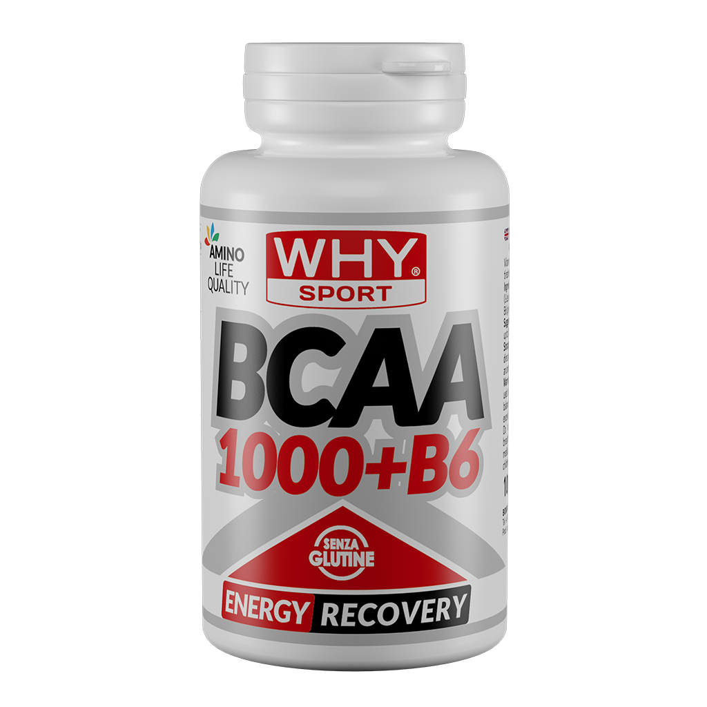 Why Sport & Nutritions, Whysport Bcaa 1000 + B6 100 cpr