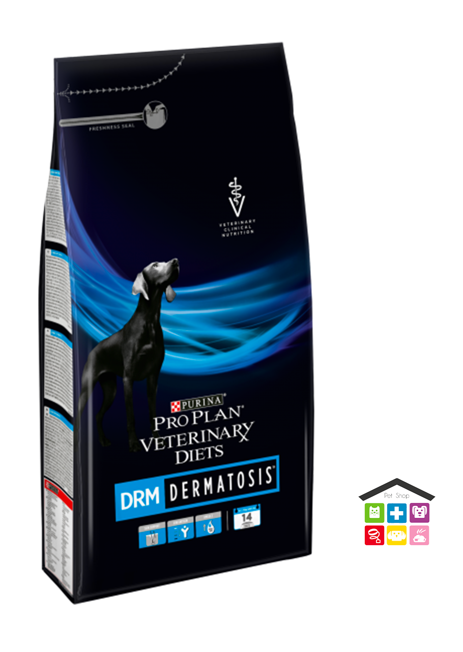 PURINA PRO PLAN VETERINARY DIETS secco cane DRM Dermatosis 3 kg