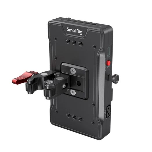 Piastra adattatore per batteria V-mount con clamp 3202