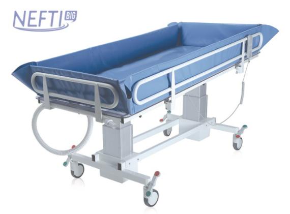 Barella doccia Bariatrica NEFTI BIG – Elettrica