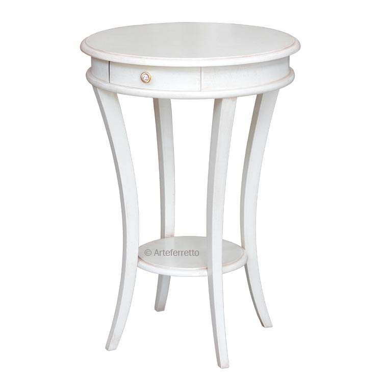Table d'appoint ronde 50 cm