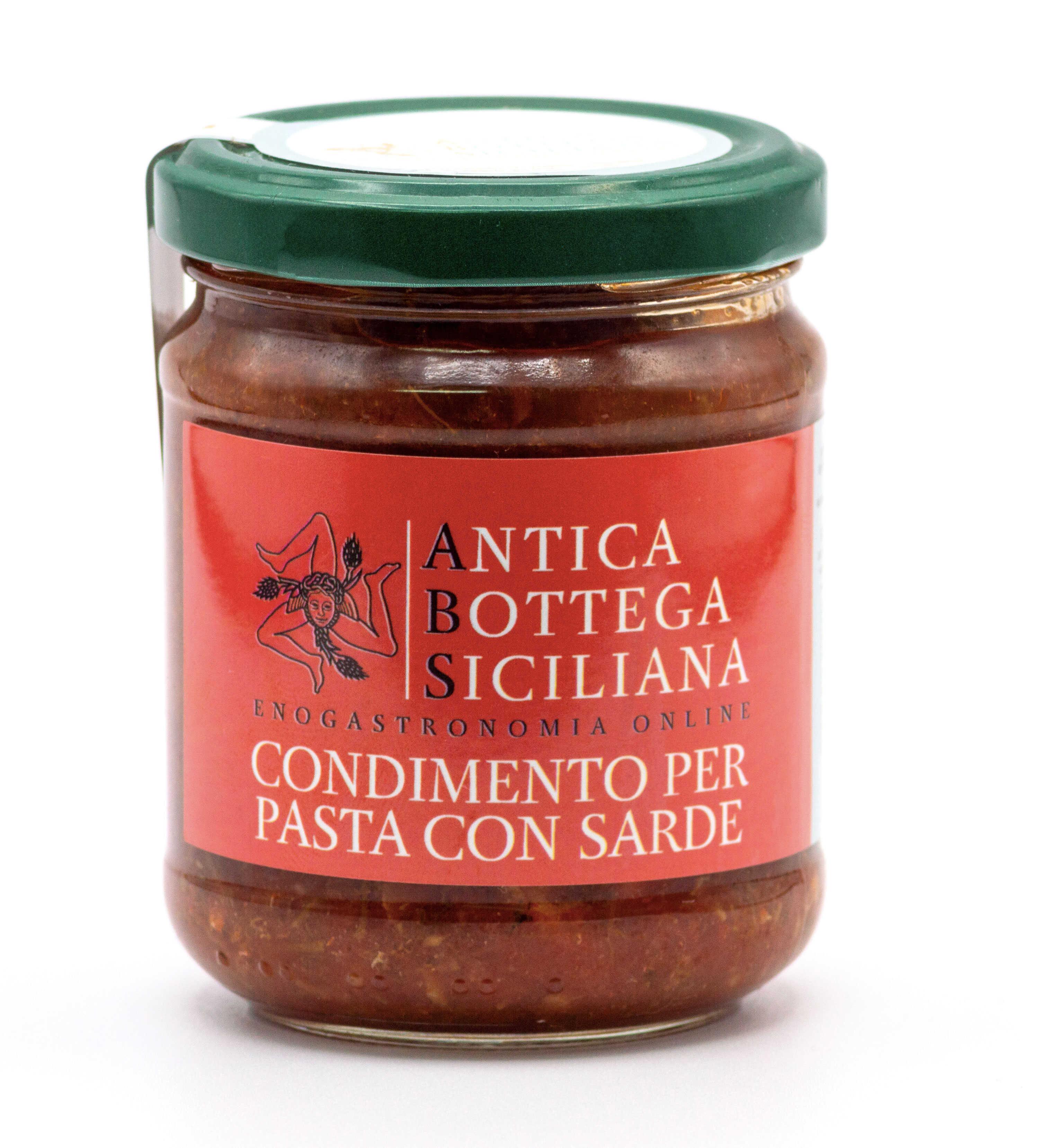 Condimento pasta con le sarde 180 grammi