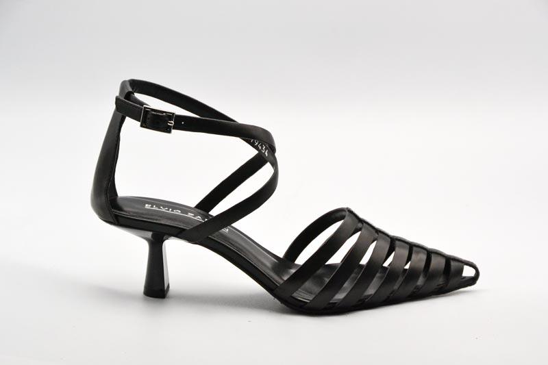 NOVITA' P/E 2021 Elvio Zanon Calzatura Donna-Parma Nero EL5805X