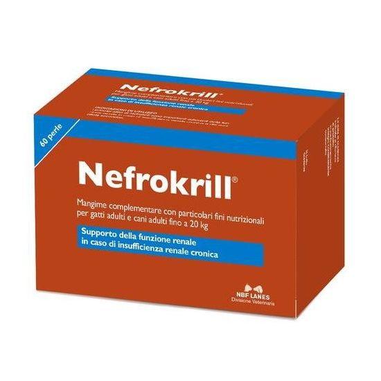 NEFROKRILL 60 PERLE – Insufficienza renale cronica di cani e gatti