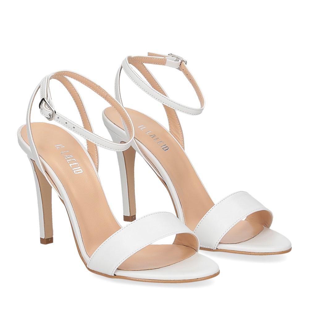 Il Laccio sandalo 1753L pelle bianca