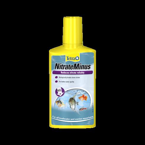 Tetra NitrateMinus riduce i i nitrati (NO3-) che consentono alle alghe di proliferare.