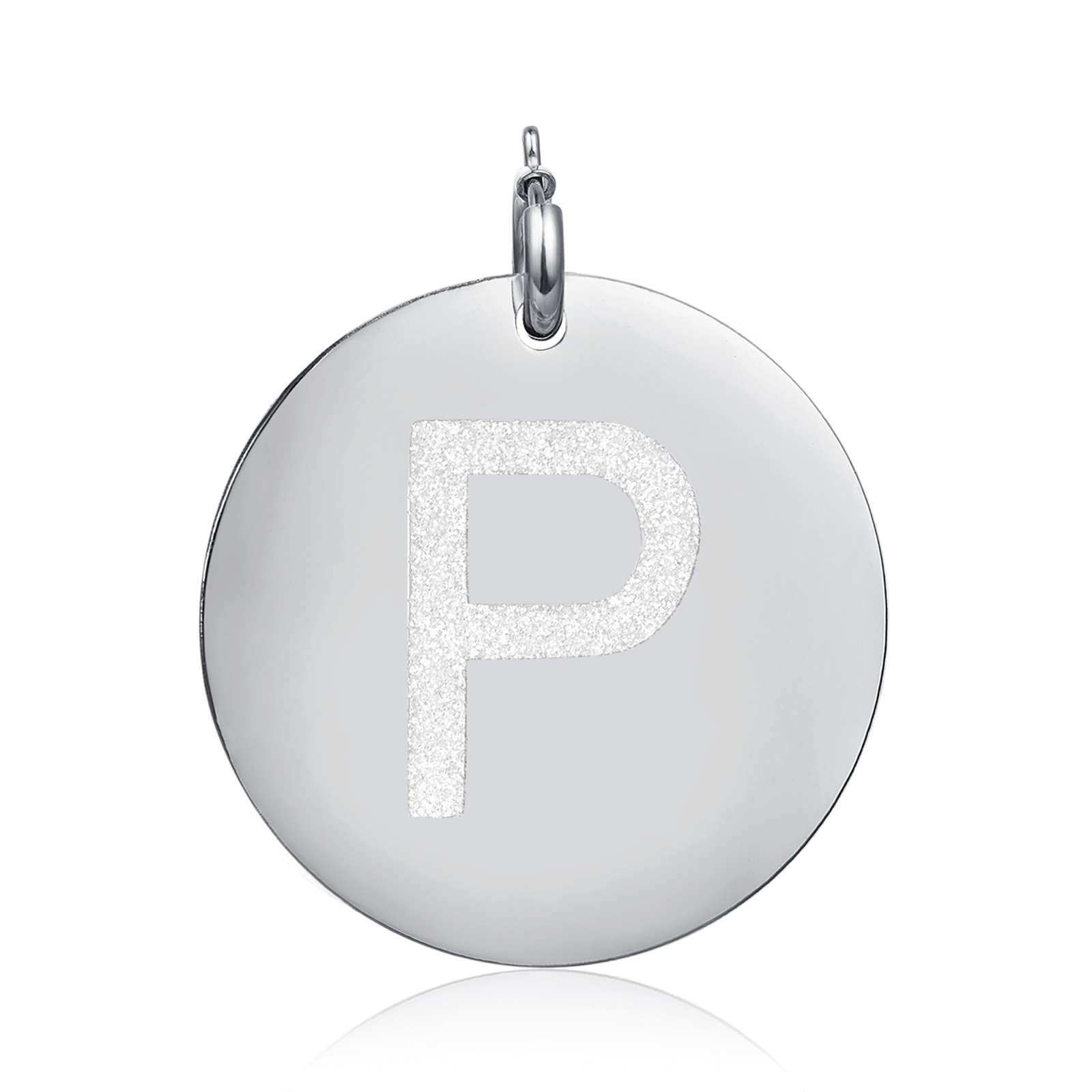 Luca Barra - Charm lettera P glitter