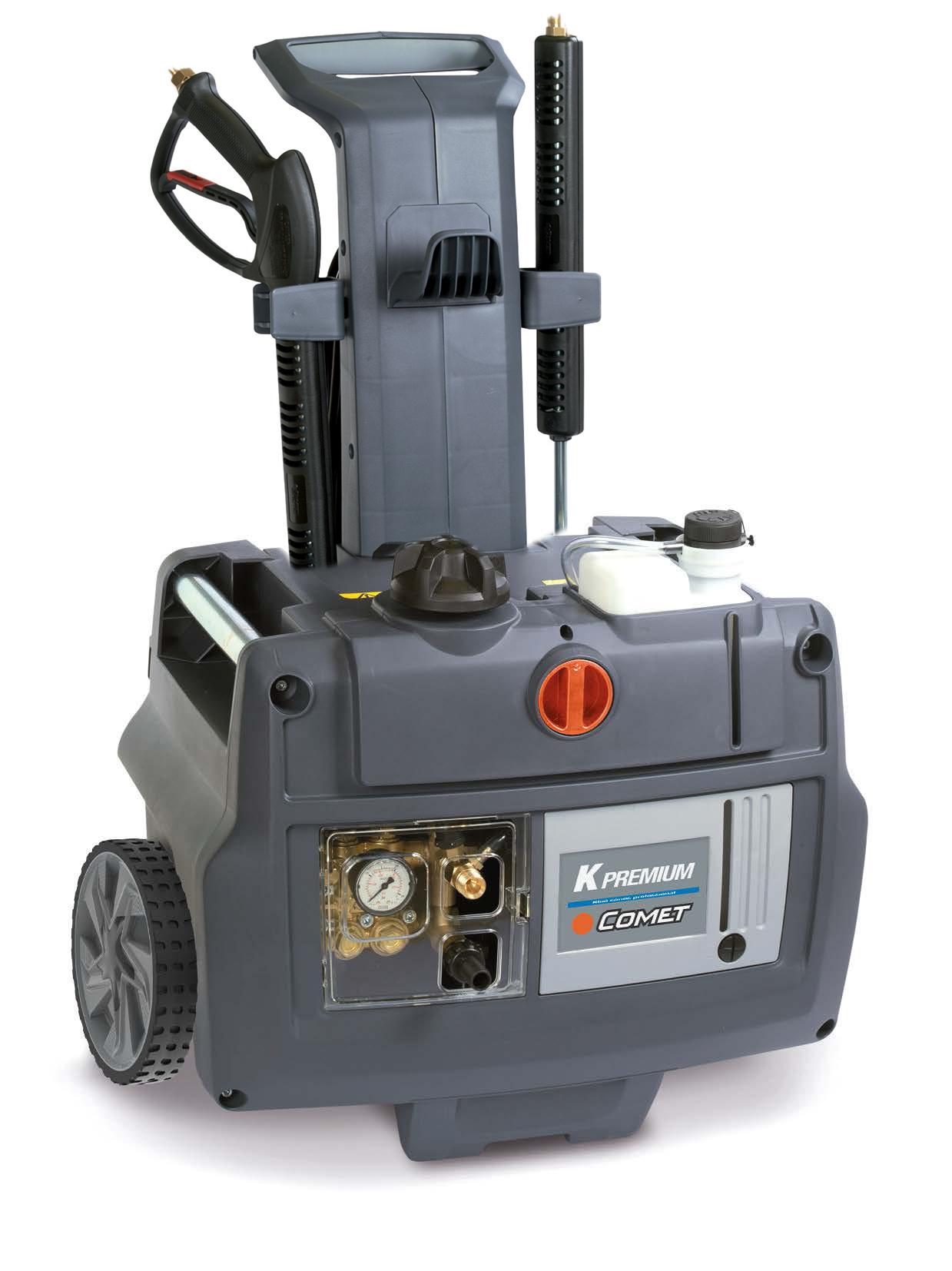 IDROPULITRICE COMET K MOBILE PREMIUM 8.15 ACQUA FREDDA 400 V - 210 Bar - 900 L/H- senza avvolgitubo