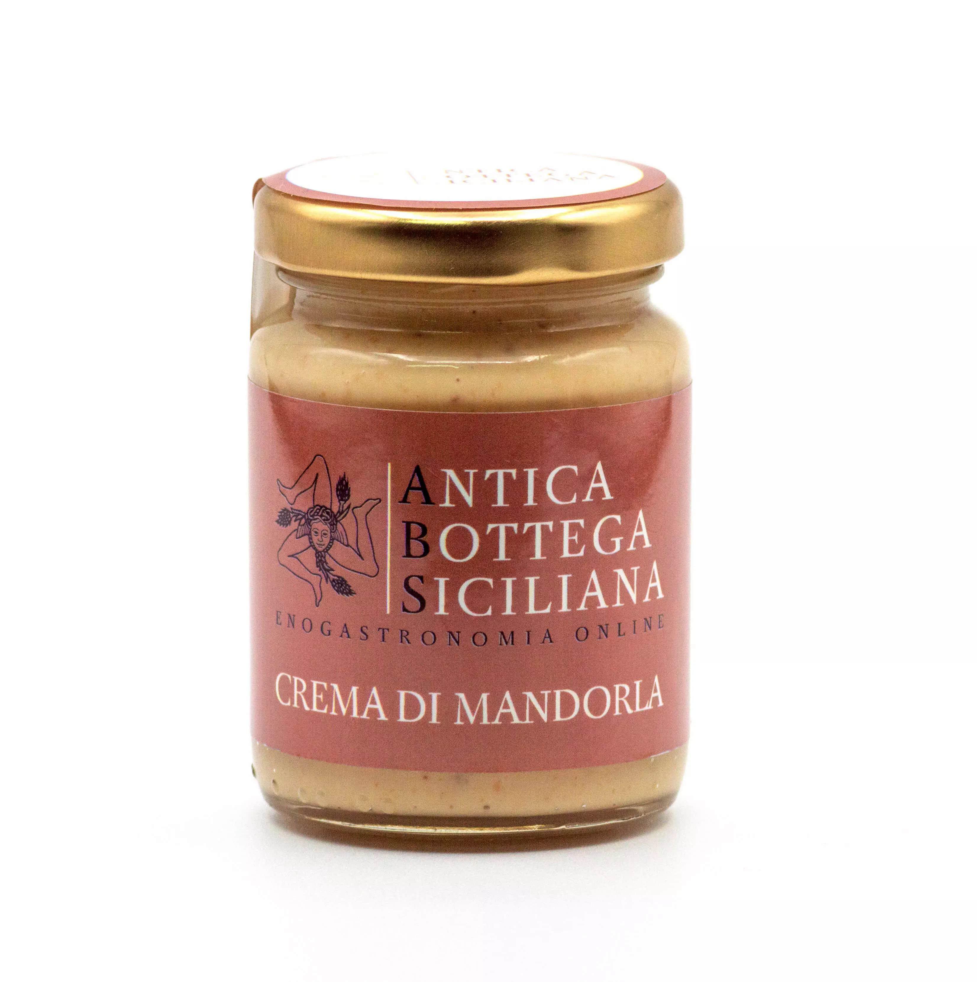 Crema di mandorle siciliane 90 grammi