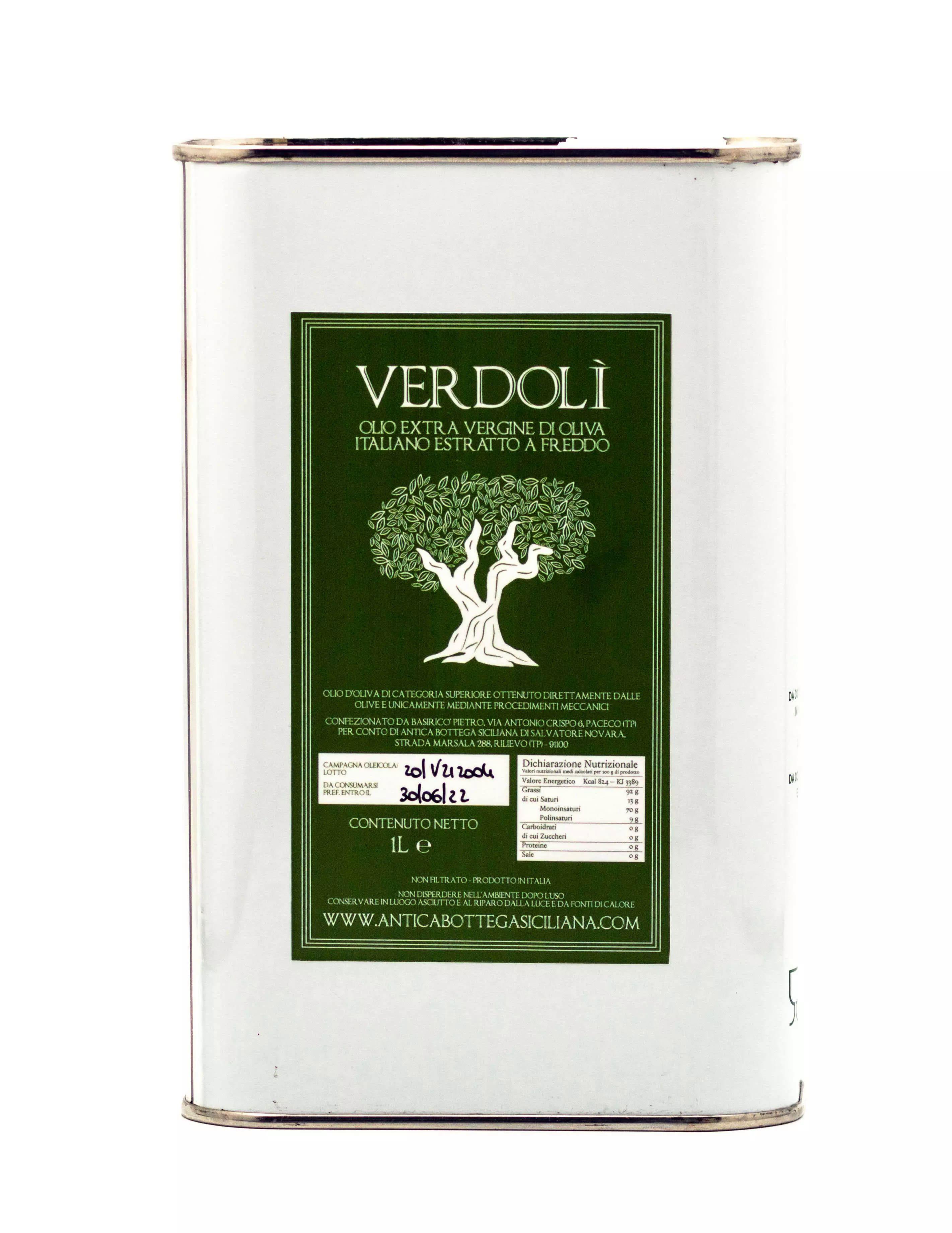 Verdolì 1 litro - Olio EVO