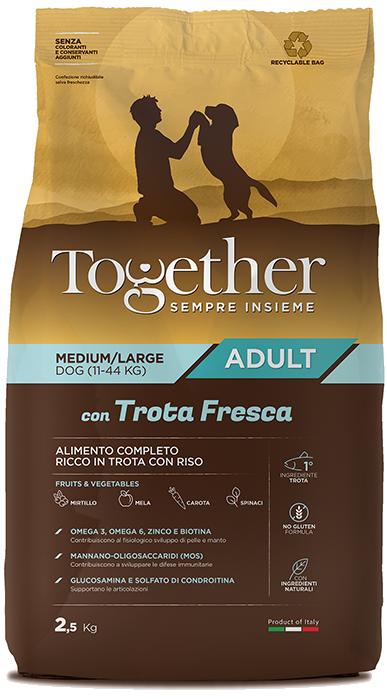 TOGETHER M/L ADULT TROTA E RISO  2,5 KG.