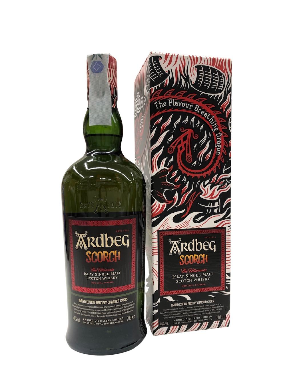 Whisky Ardbeg Scorch edizione limitata 2021 - Isle of Islay -Scozia