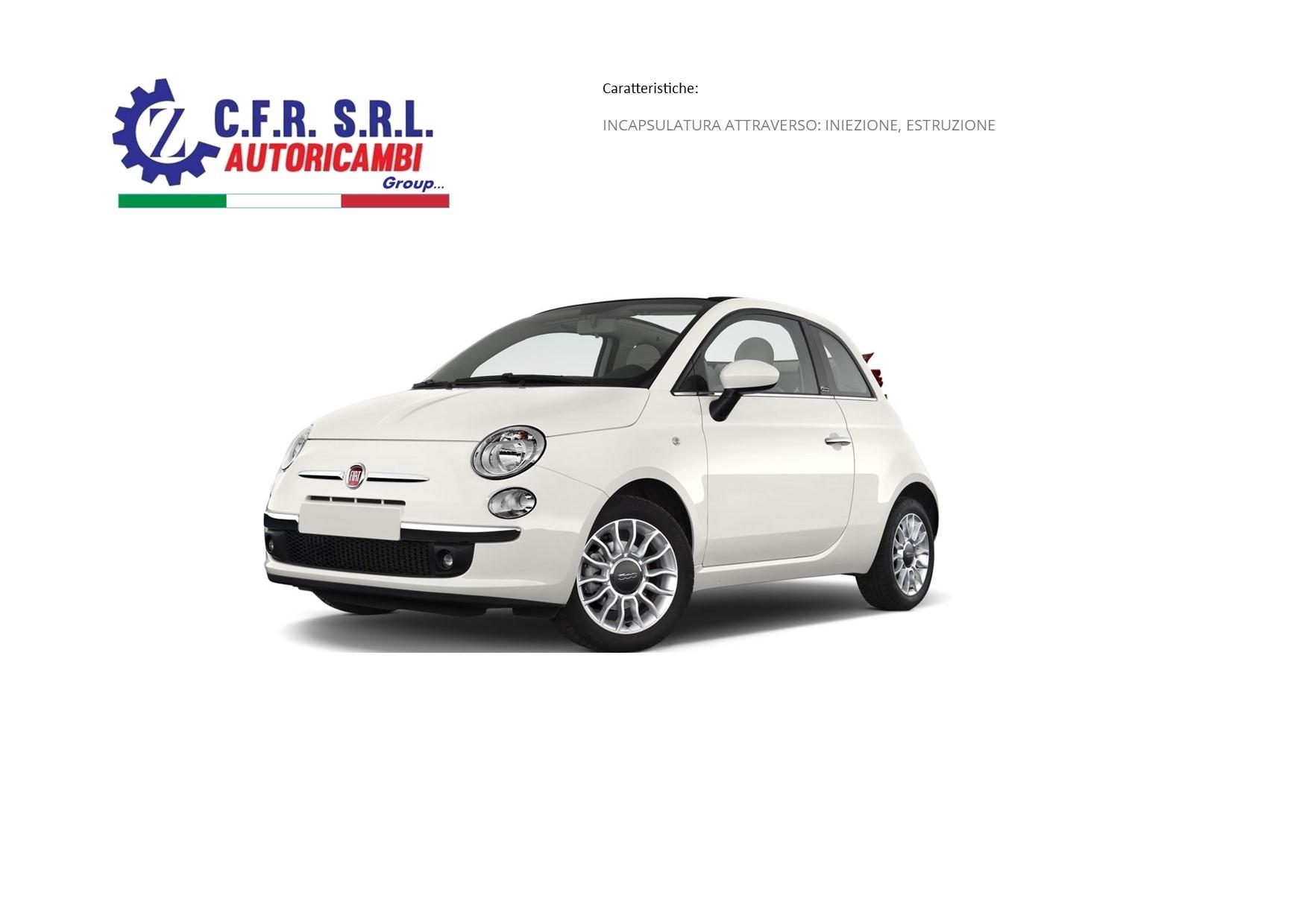 FISSO POST. CARR. DX PROFILO CR. PER FIAT 500 CABRIOLET 2 PORTE 07/09