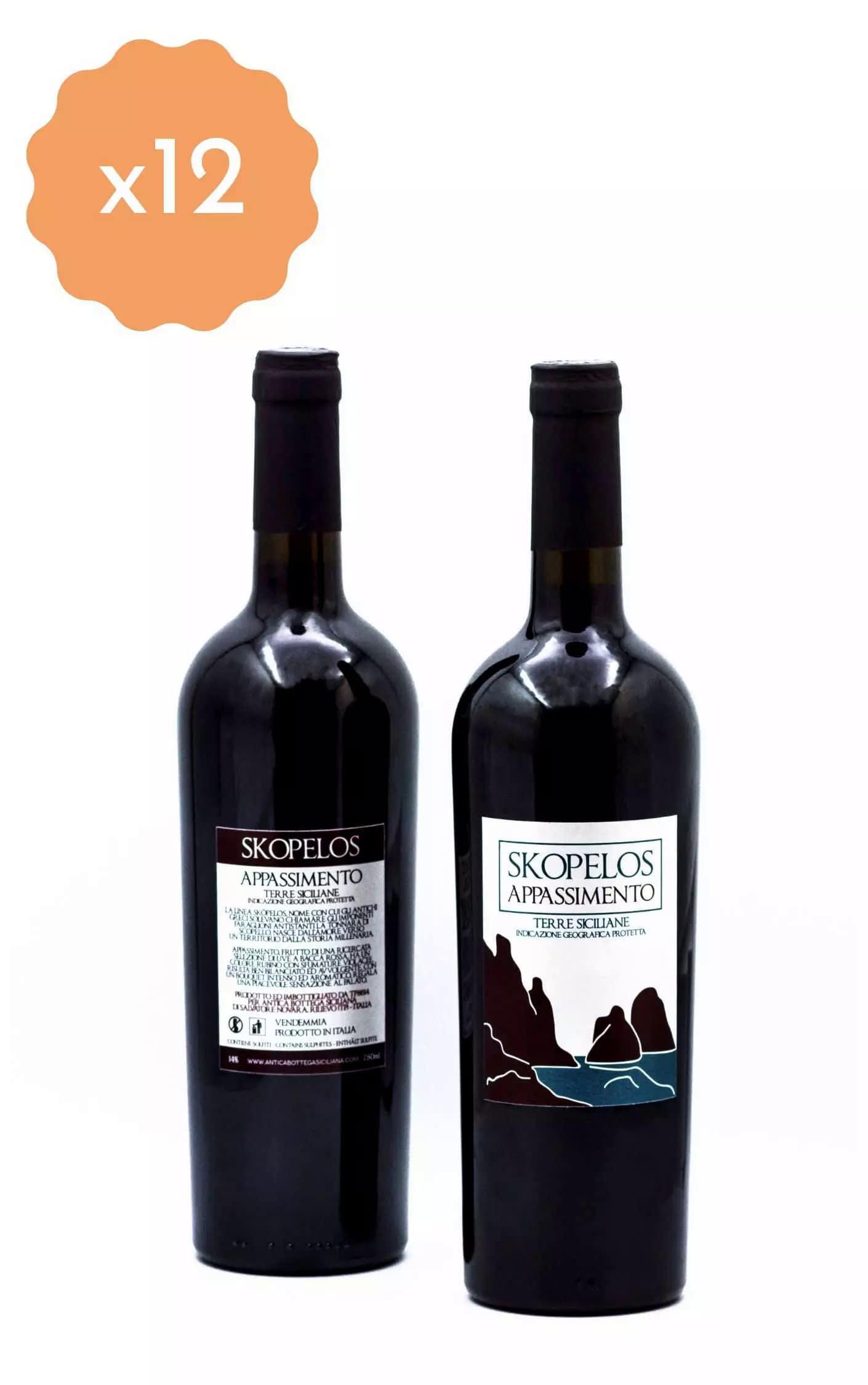 Box 12 Bottiglie Appassimento Skopelos