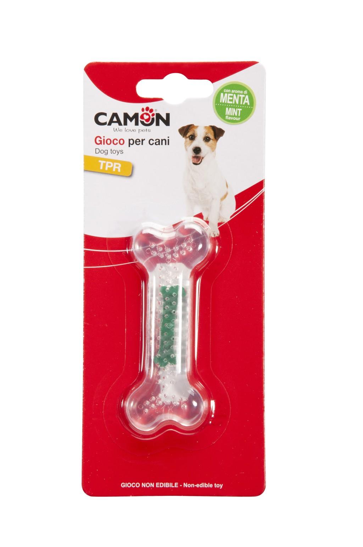Gioco per cani - osso in TPR aromatizzato  Camon