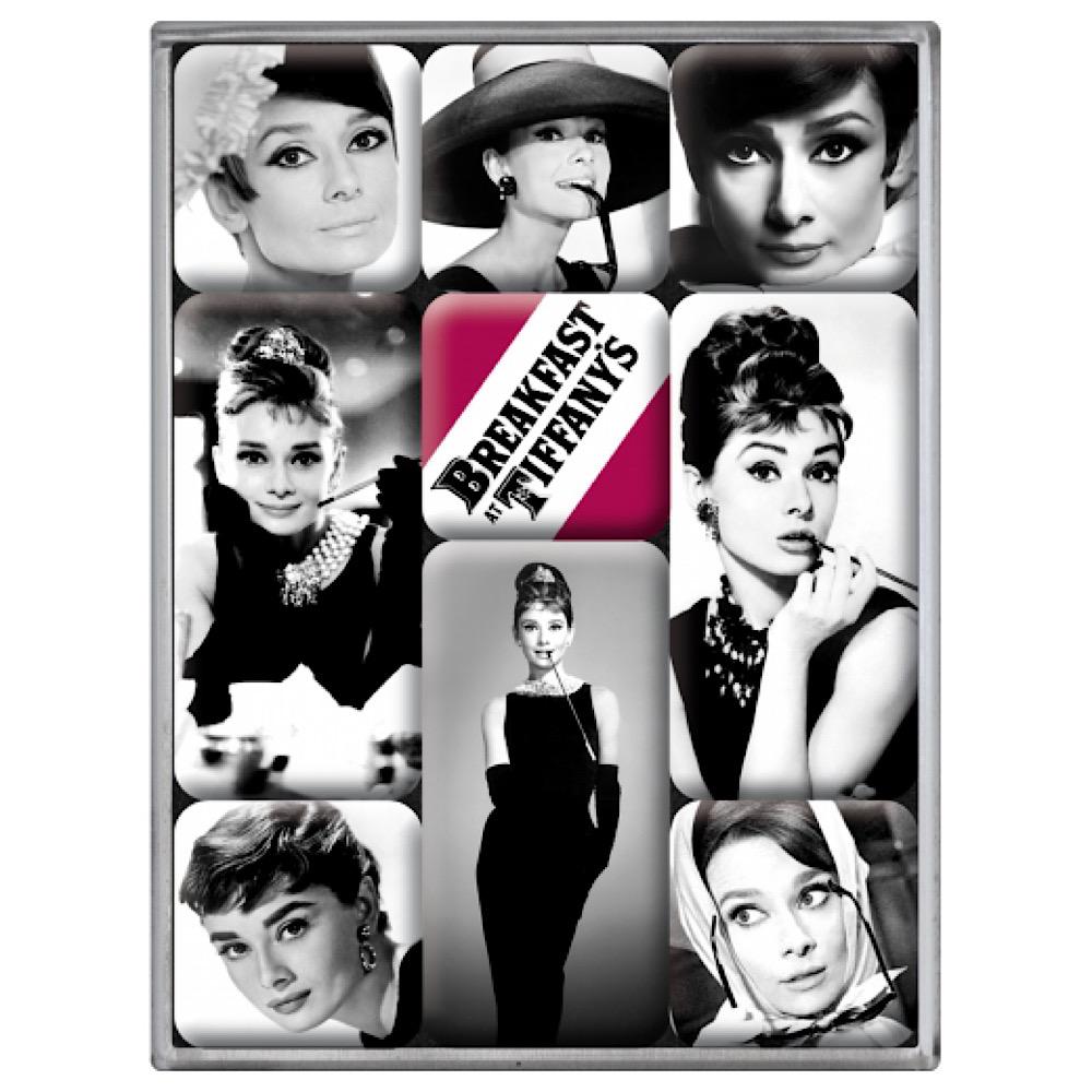 Set 9 magneti Audrey Hepburn