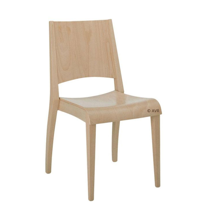 Chaise empilable 'Onwood'