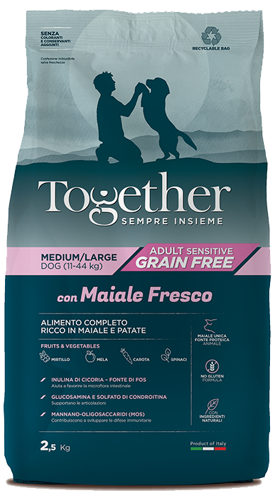 TOGETHER ADULT MAIALE PATATE MEDIUM-LARGE  12KG.