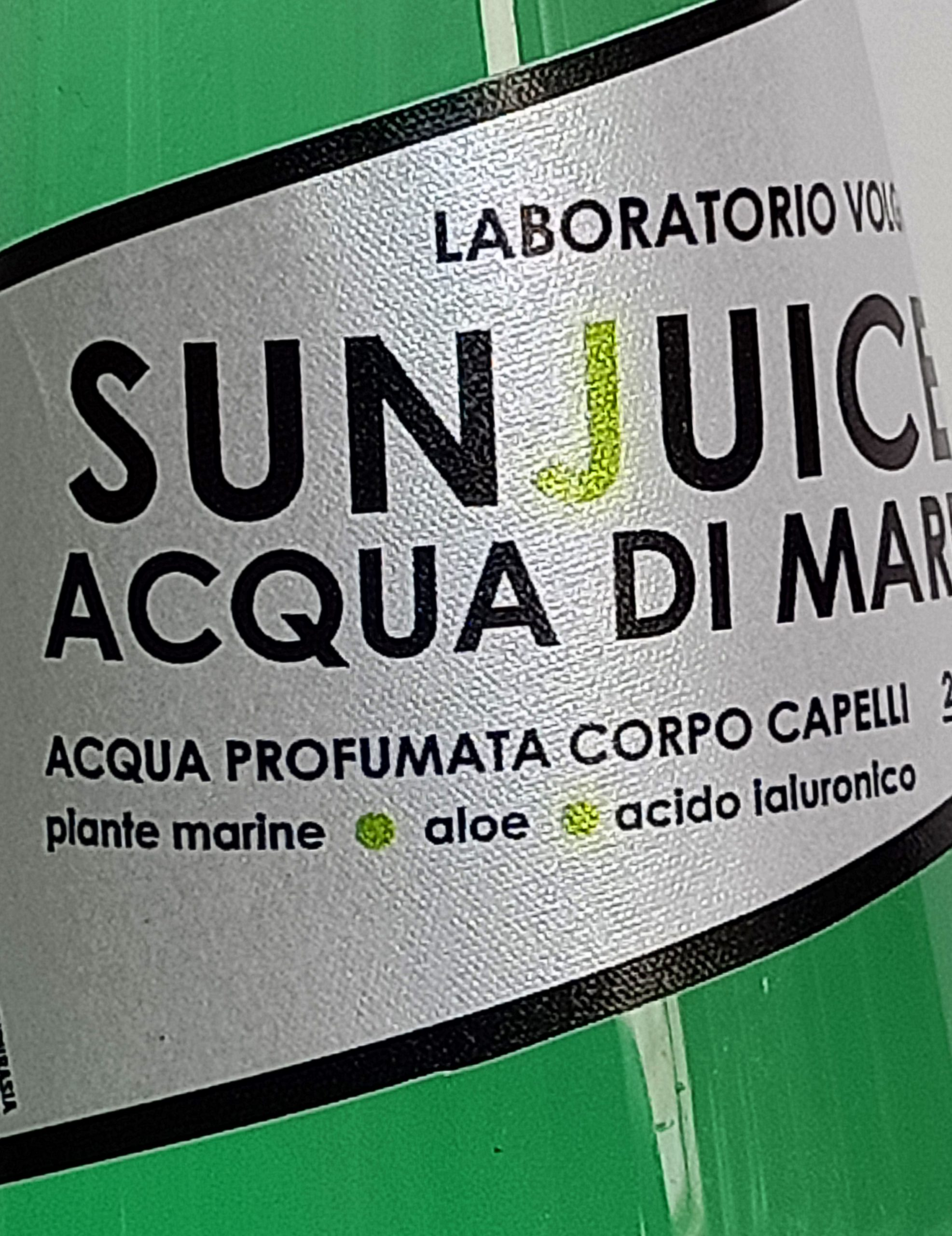 Acqua di Mare Spray Sun Juice