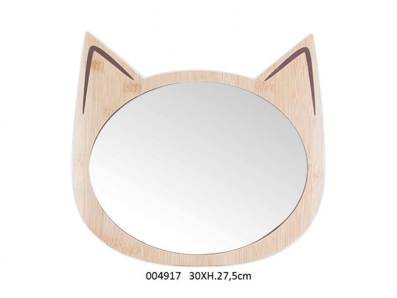 Specchio in legno Gatto Catwood (004917)