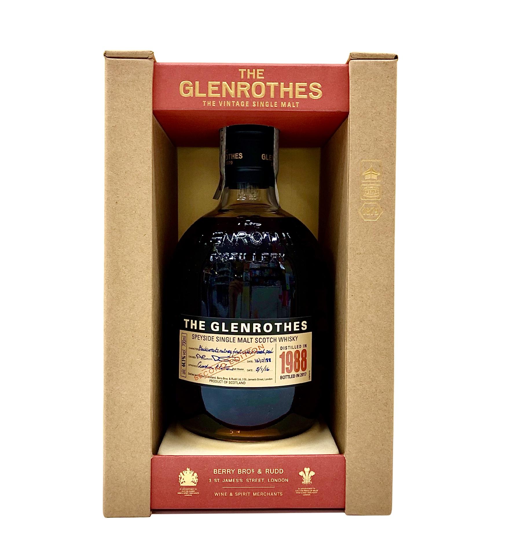 Whisky The Glenrothes 1988 cl. 70 - Speyside Single Malt  Scotch Whisky