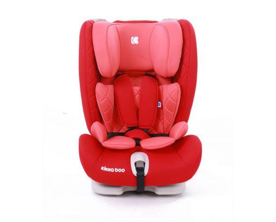 KikkaBoo - Seggiolino auto 1-2-3 (9-36 kg) Viaggio ISOFIX - red